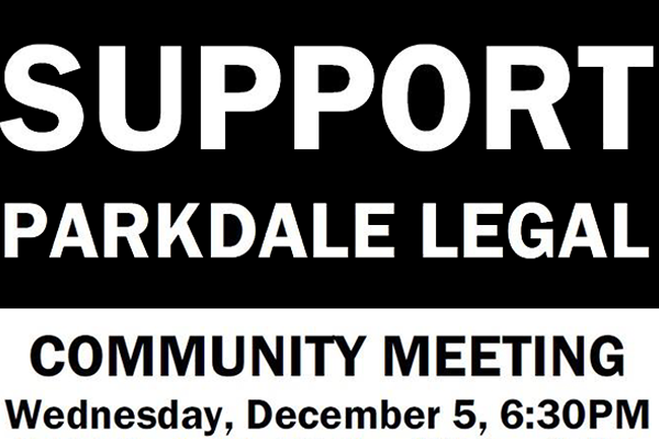 Support Parkdale Legal